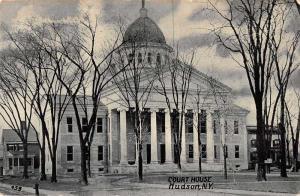 Hudson New York Court House Antique Postcard J63681