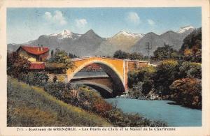 BT14473 Grenoble les ponts de claix et le massif de la chartreuse         France