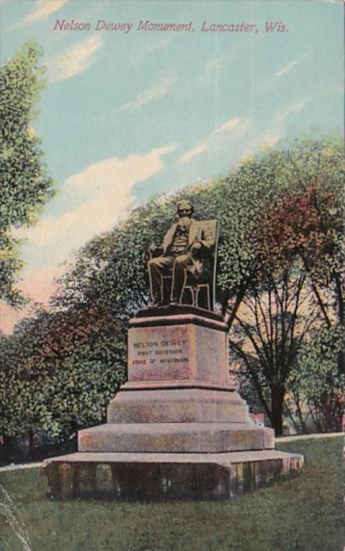 Wisconsin Lancaster Nelson Dewey Monument