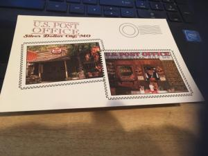 Vtg Postcard: US Post office , SIlver Dollar city MO