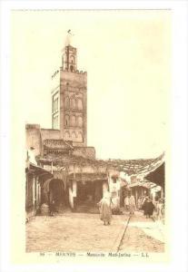 Mosquee Med-Jarine, Meknes, Morocco, Africa, 1900-1910s