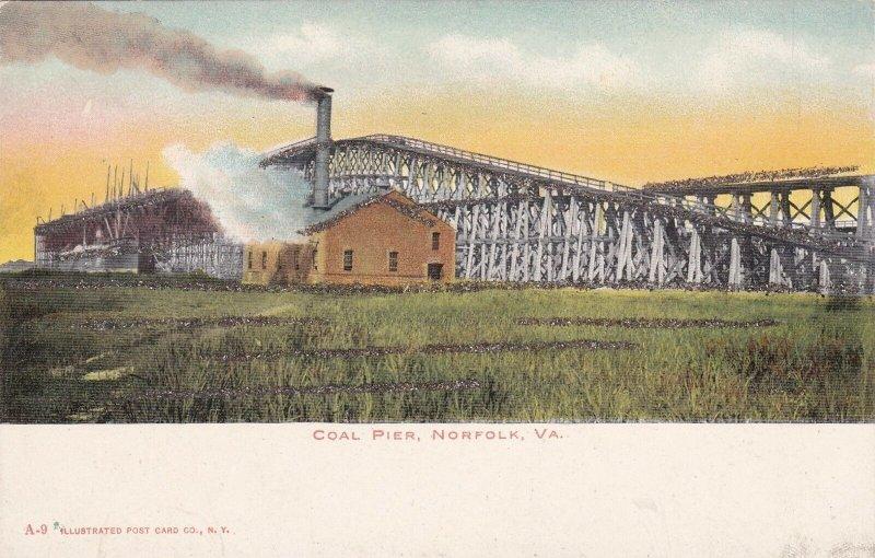 Virginia Norfolk The Coal Pier sk5649