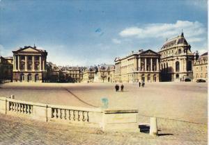France Chateau de Versailles La cour d'honneur
