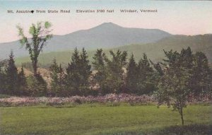 Vermont Windsor The Mt Ascutney From Kennedy Golf Links Albertype