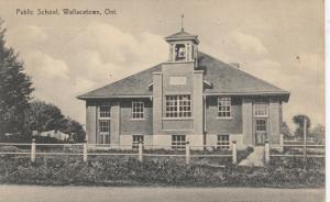 WALLACETOWN , Ontario , 1900-10s : Public School
