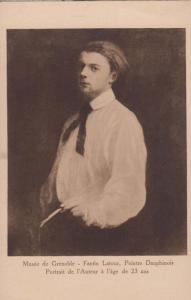 Fantin Latour Peintre Dauphinois Grenoble Museum Painting Antique Postcard