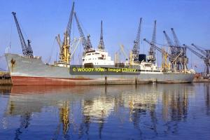 mc0044 - Anchor Line Cargo Ship - Eucadia , built 1961 - photo 6x4