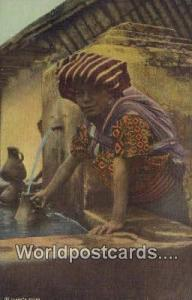 Chiquirichapa Guatemala, Central America Indian Woman, Concepcion Chiquiricha...