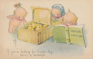 Rosie O'NEILL; EASTER ; Kewpies & chicks , 1920