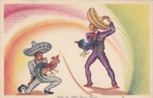 Mexico Tijuana Cock Fight 1941