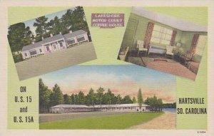 South Carolina Hartsville Lakeshore Motor Court