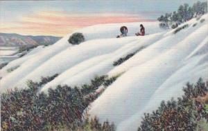 New Mexico Alamogordo White Sands National Monument Curteich