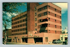 Dickerson ND- North Dakota, Ray Hotel, Advertising, Chrome Postcard