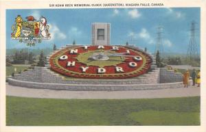 Canada Niagara Falls    Sir Adam Beck Memorial Clock (Queenston