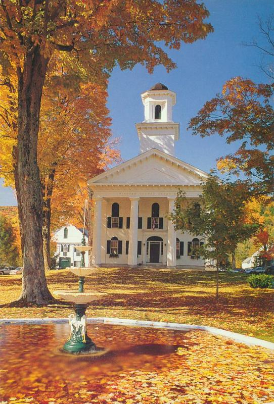 Newfane VT, Vermont - Windham County Courthouse