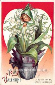 Artist Ellen Clapsaddle Series No 602 International Art Co. 1911