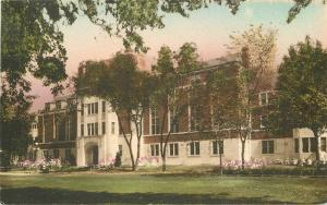Albertype Ann Arbor Michigan 1920s University League Wahr hand colored 2930