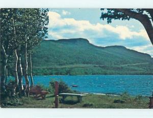 Pre-1980 TOWN VIEW SCENE Corner Brook Newfoundland NL p9478