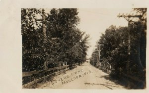 RP: MUSCODA , Wisconsin , 1907 ; Lover's Lane