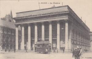 Le Theatre, Trolley, DIJON (Cote d'Or), France, 1900-1910s