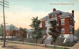 City Hospital Binghamton, New York, USA Postal Used Unknown