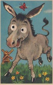Large Eyed Donkey , 1910s