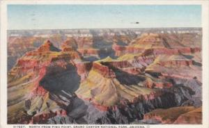 Fred Harvey North From Pima Point Grand Canyon National Park Arizona 1935 Det...