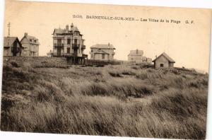 CPA BARNEVILLE-sur-MER - Les Villas de la Plage (149198)