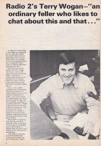 Terry Wogan Jimmy Saville ISSUE TWO Radio 1 DJ 1970s Magazine