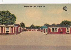 NASHVILLE , Tennessee , 1930-40s ; Biltmore Hotel Court