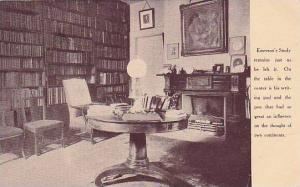 Library , Emeron's Studio, Concord , Mass. 1910s