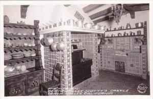 California Death Valley The Kitchen Death Valley Scottys Castle Real Photo