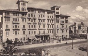 AK Viareggio Grand Hotel & Royal Real Photo Italy Postcard