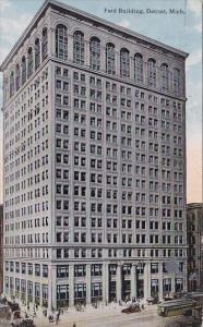Michigan Detroit Ford Building 1914
