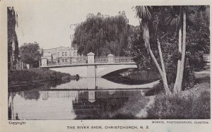 CHRISTCHURCH, New Zealand, 1900-1910's; The River Avon