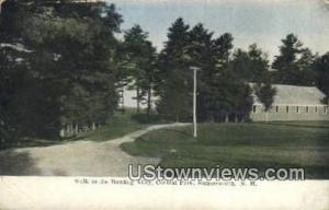 Bowling Alley, Central Park Somersworth NH 1911