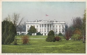 WASHINGTON D.C., 1910-1930s; South Lawn, The White House
