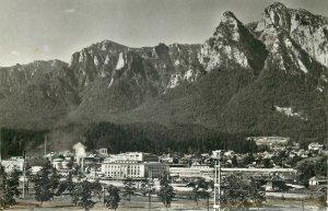 Romania Busteni fabrica de hartie  Postcard