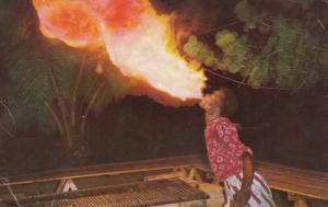 KINGSTON , Jamaica , WI ,  1940-60s ;  The Fire Eater