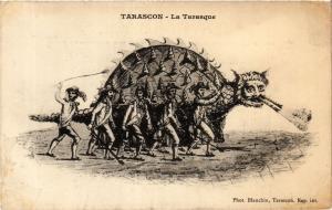 CPA TARASCON La Tarasque (339847)