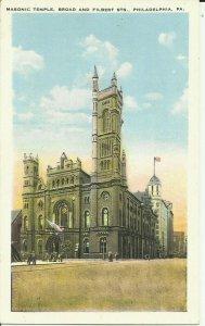 Philadelphia, Pa., Masonic Temple, Broad and Filbert Sts.