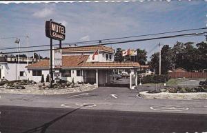 Motel Alpiniste, MONT ST HILAIRE . Quebec , Canada , 50-60s