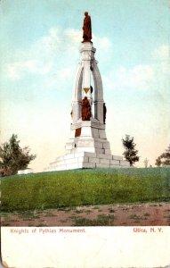 New York Utica Knights Of Pythias Monument