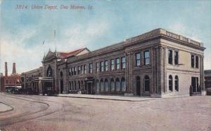 Union Depot Des Moines Iowa 1912