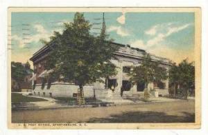 U.S. Post Office, Spartanburg, South Carolina, 1920