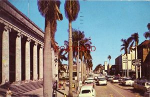 1963 FORT MYERS, FLORIDA - FIRST STREET LOOKING EAST Outdoor Post Office on left