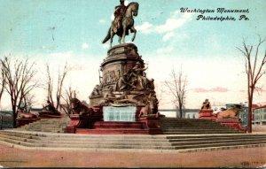 Pennsylvania Philadelphia Washington Monument 1908