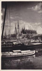 RP; Palma tipico y sus alrededores, Sail Boats, Mallorca, Islas Baleares, Spa...