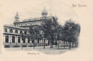 BAD NAUHEIM, Hesse, Germany, 1901-07 ; Badehaus VI