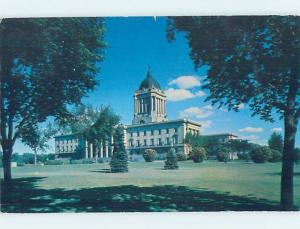 1950's LEGISLATIVE BUILDING Winnipeg Manitoba MB G1898